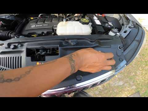 DiY Replace Map Sensor On 2015 Buick Encore
