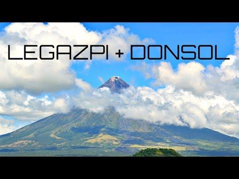 LEGAZPI AND DONSOL MAIN TOURIST ATTRACTION | BICOL, PHILIPPINES