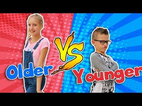 OLDER SIBLING vs. YOUNGER SIBLING