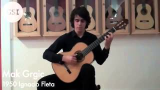 Bach 'Violin Partita in D minor   Chaconne' played by Mak Grgic
