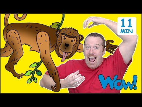 Animals from Steve and Maggie for Kids   Free Speaking Wow English TV
