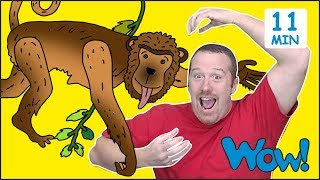 Animals from Steve and Maggie for Kids | Free Speaking Wow English TV