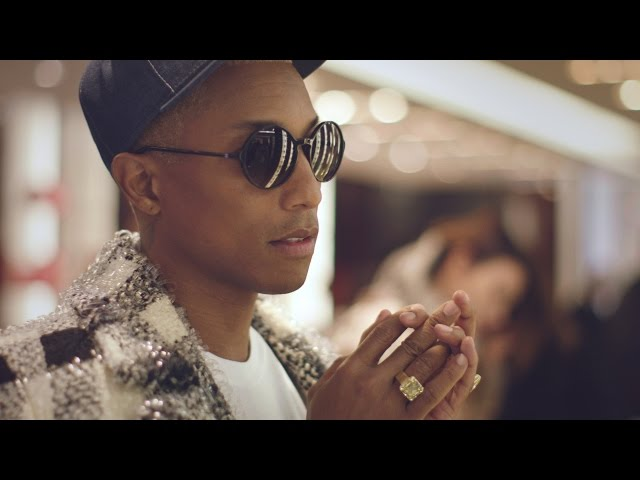 Pharrell Williams in Paris the day of the Fall-Winter 2016/17 Ready-to-Wear CHANEL Show