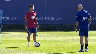 Philippe coutinho reported back for training with fc barcelona on friday. it follows the brazilian playmaker's season-long loan at bayern munich. 28-year...