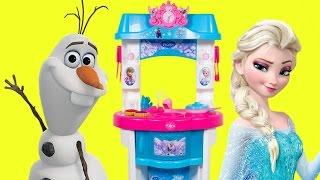 Disney Frozen Fever Mini Kitchen Toy Set - Play Doh Maletin Cucina ...