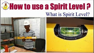 How to use a Spirit Level? | What is Spirit Level? |
