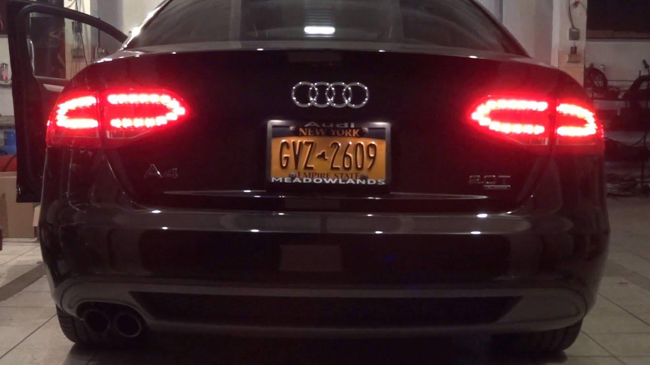 Audi A4 B8 Usa Rear Lights