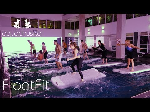 Fitness on water with FloatFit | Dolphin Square, London | AquaPhysical