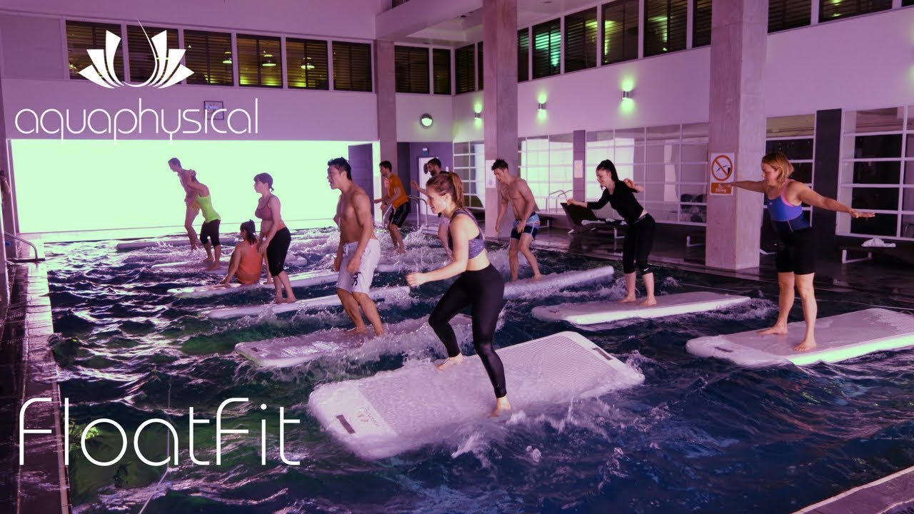 Fitness On Water With Floatfit Dolphin Square London