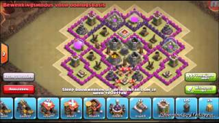 TH Farming Base No Xbows And Archer Queen