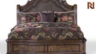 Pulaski San Mateo Complete King Or California King Sleigh Bed 6621+80+81+82+83