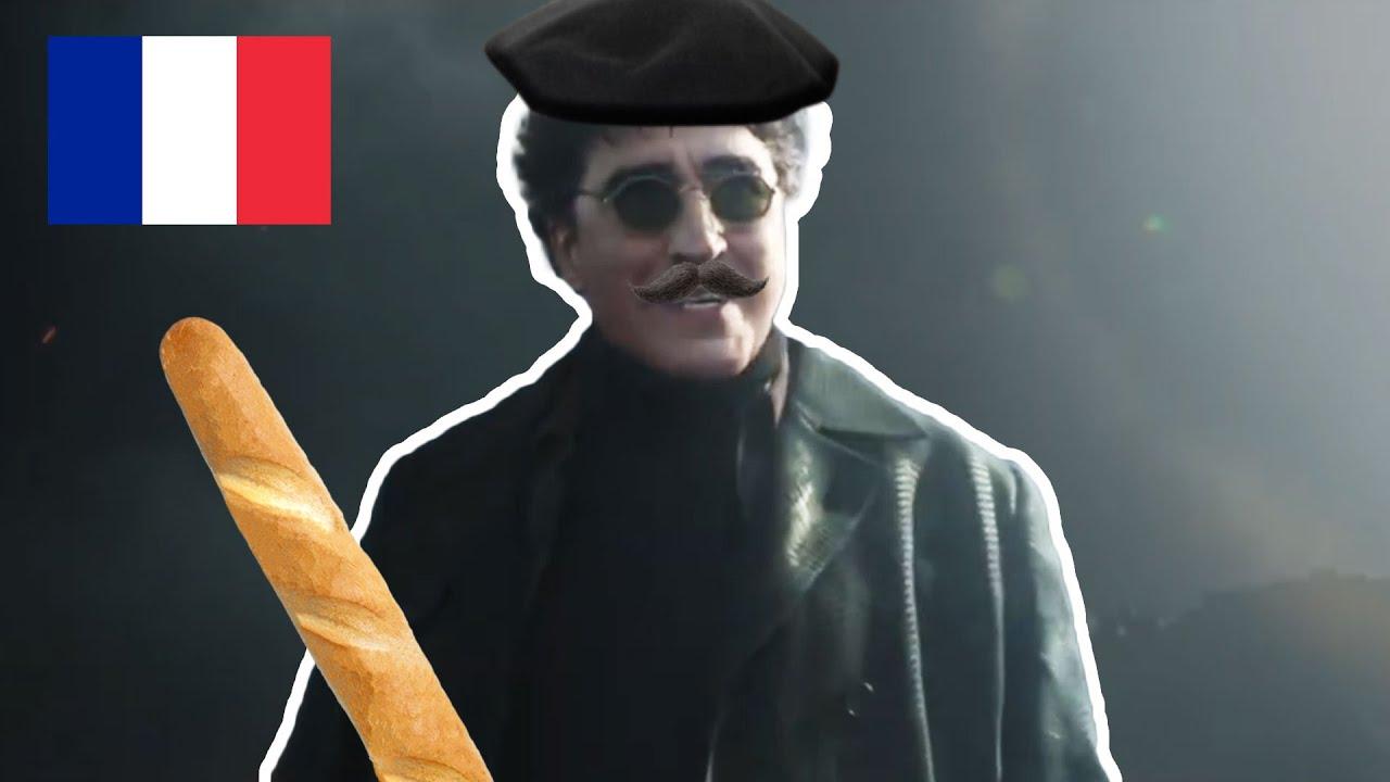 ПРИВЕТ ПИТЕР, НО НА ФРАНЦУЗСКОМ
