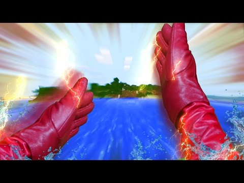 Realistic Minecraft Shorts: THE FLASH - Видео из Майнкрафт (Minecraft)