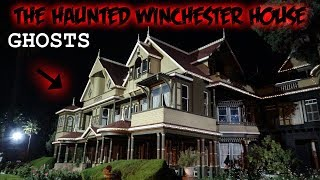 THE HAUNTED WINCHESTER MYSTERY MANSION // DO GHOSTS LIVE INSIDE?! | MOESARGI