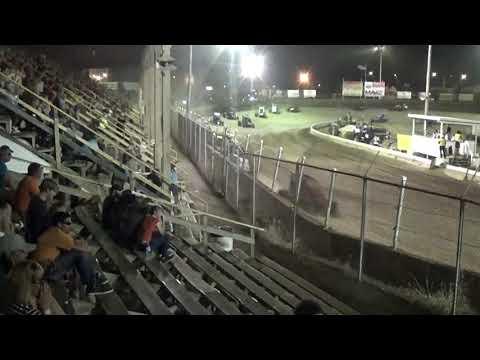 Midgets Feature at Belle-Clair Speedway 7-26-19