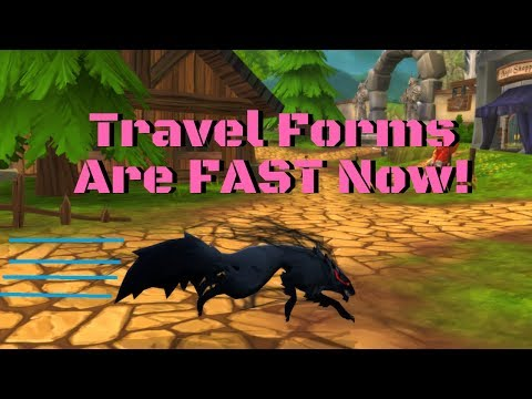 AQ3D Travel Forms Are FAST Now! AdventureQuest 3D