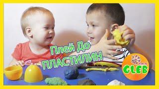 Как сделать Пластилин Плей До своими руками в домашних условиях How to Make Play Doh