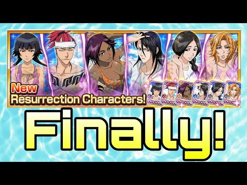Seasonal Resurrections Are Finally Coming! Swimsuit Character Breakdowns