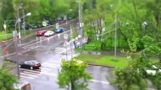 29 мая 2017 в Москве штормовое предупреждение. Ветер и дождь усиливаются.