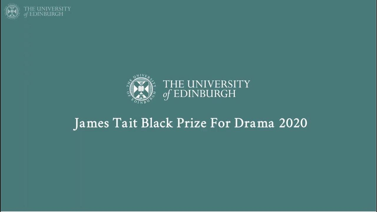 James Tait Black Prize for Drama 2020