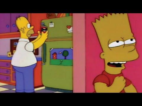 Bart Pranks Homer On April Fools Day