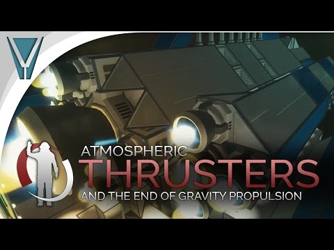 Patchology: Atmospheric Thrusters, Goodbye Gravity Drives [Space Engineers]