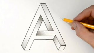 How To Draw Styles A Letter Tattoo Drawing