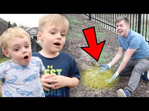 AMAZING BACKYARD DISCOVERY UNDERGROUND! The Kids Were Surprised To See This!
