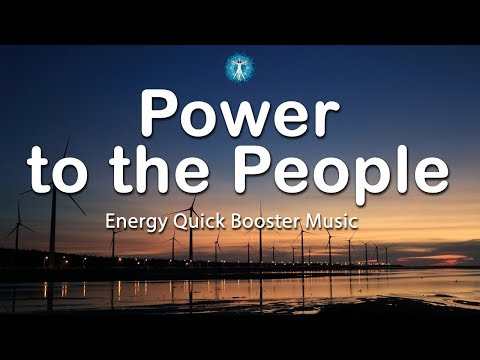 "5 Minutes Energy Quick Booster: ""Power to the People"" - Fight Fatigue and Energize Yourself"