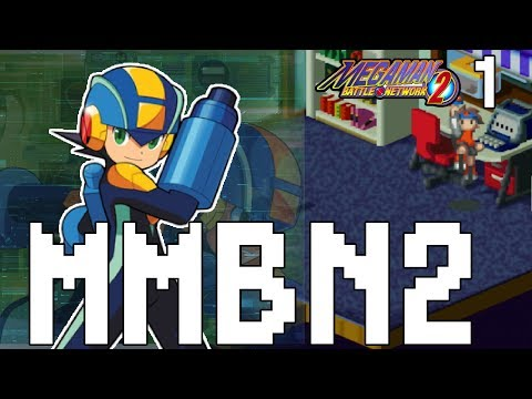 MEGA MAN BATTLE NETWORK 2 | Mega Man Battle Network 2 Let's Play Part 1