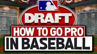 How To Go Pro In Baseball [What Does It Take To Get Drafted?]