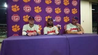 Clemson Baseball    Lee, Rohlman, Beer, T. Jackson - 4/25/17