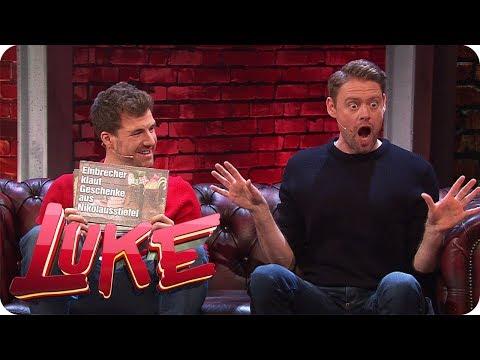 News parodieren mit Max Giermann - LUKE! Die Woche und ich | SAT.1