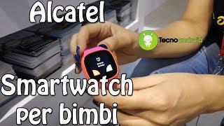 Alcatel presenta lo smartwatch perfetto per i bambini - IFA 2017