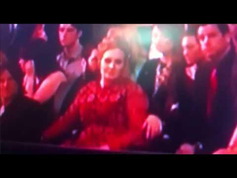 Adele & Simon Grammys 2013