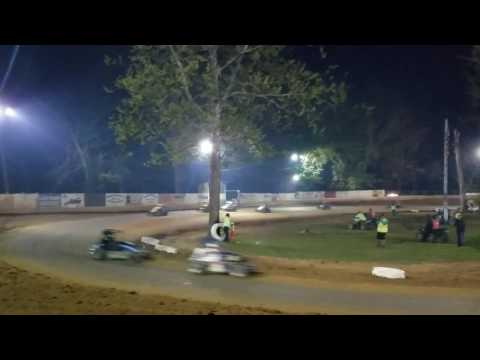 Mike Kalman - Shellhammers Speedway Feature - 4/3/17