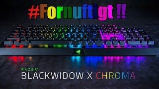 Unboxing - Razer Blackwidow X Chroma