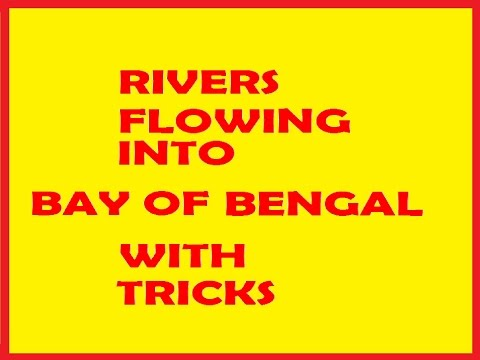 RIVERS FLOWING INTO BAY OF BENGAL WITH TRICKS @ MAHALAKSHMI ACADEMY