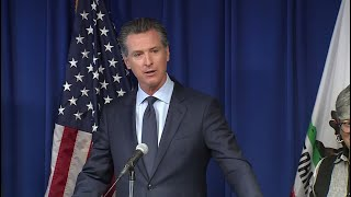 Raw Video: Newsom Reacts After Trump Revokes California Auto Emissions Waiver