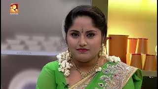 "Annies Kitchen With Malayalam Film/Serial Actress ""Amritha Varnan"" 