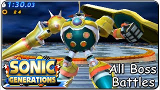 Скачать Sonic Generations 3DS All Bosses S Rank