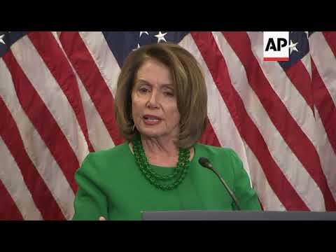 Pelosi: Trump Tweet on Gillibrand 'Shameful'
