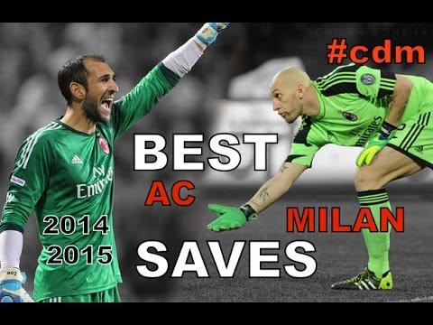 Best saves AC MILAN 2014-2015 ● Diego López, Abbiati