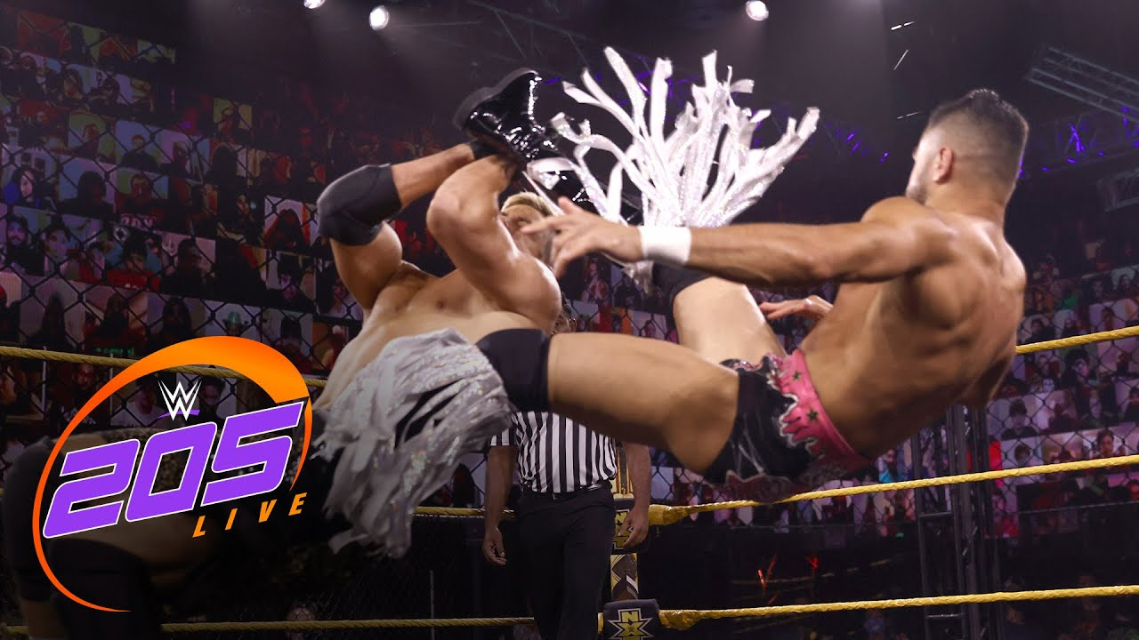 Sunil Singh Suffers Dislocated Right Shoulder On WWE 205 Live