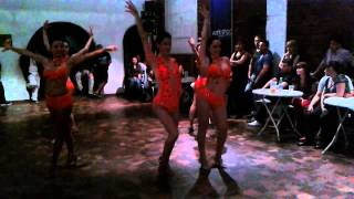 Grupo OLIVIA-Coreografia Sonido bestial
