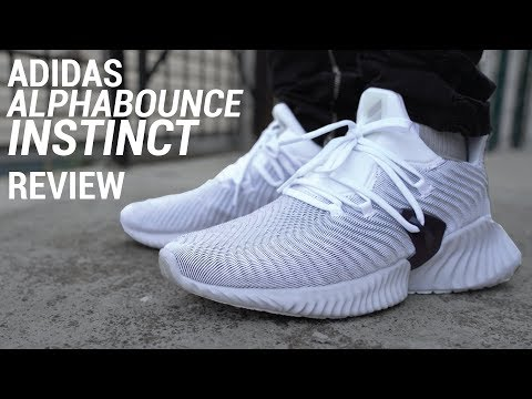 1b5953e4b73b3 ADIDAS ALPHABOUNCE INSTINCT REVIEW & ON FEET - YouTube
