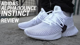 ADIDAS ALPHABOUNCE INSTINCT REVIEW & ON FEET