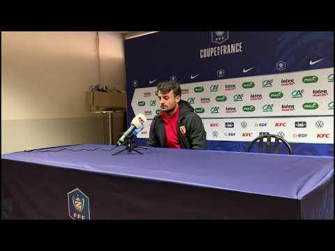 """Corentin Jean (RC Lens) : """"A 2-1 on s'est arrêté de jouer"""""""