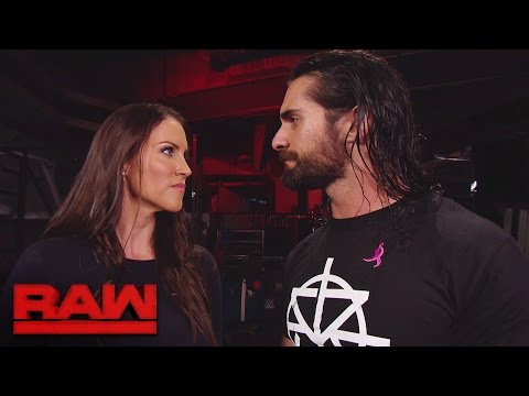Seth Rollins reveals Triple H's worst decision to Stephanie McMahon: Raw, Oct. 3, 2016 thumbnail