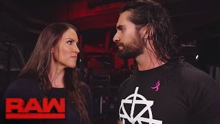 Seth Rollins reveals Triple H's worst decision to Stephanie McMahon: Raw, Oct. 3, 2016